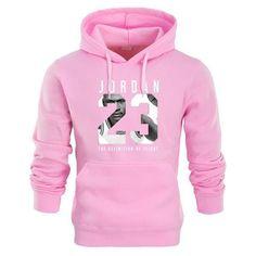 201af45e179f Hot 2018 New JORDAN 23 just do it Letter Print Sweatshirt Men Hoodies  Fashion Solid Hoody Men Pullover Mens Tracksuits Male Coat