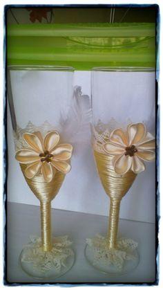 Svatební skleničky Flute, Champagne, Tableware, Dinnerware, Flutes, Dishes, Tin Whistle