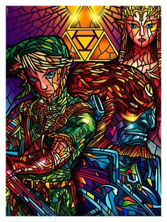 L'Exposition des 30 ans de Zelda à la Hero Complex Gallery – Geek Art – Art, Design, Illustration & Pop Culture !