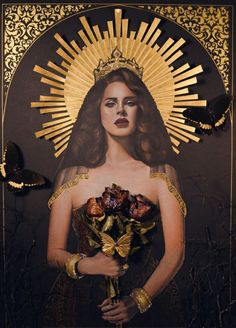 Lana Del Rey #LDR #art by Ricardo Abraham