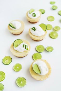 Mini Key Limes Pies