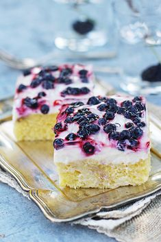I Foods, Sour Cream, Panna Cotta, Cheesecake, Food And Drink, Yummy Food, Ethnic Recipes, Blog, Recipes