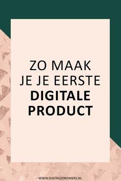 Wil je digitale producten gaan verkopen? In dit stappenplan leg ik precies uit hoe je een succesvol digitaal product maakt en hoe je het vervolgens kunt promoten.