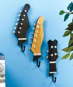 Photo: Upcycle guitar parts into hooks!
