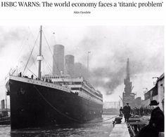 HSBC WARNS: The world economy faces a 'titanic problem' ➤ http://www.businessinsider.com/hsbcs-stephen-king-on-the-world-economy-2015-5#SmartNews ②⓪①⑤ ⓪⑤ ①③