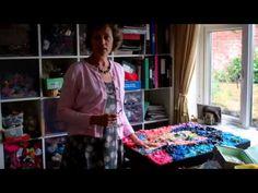 Jane Perkins shows us her studio.