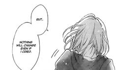 OnlyShoujo is my life! Sad Anime Girl, Anime Art Girl, Manga Girl, Manga Anime, Sad Anime Quotes, Manga Quotes, Dark Art Illustrations, Illustration Art, Pixiv Fantasia