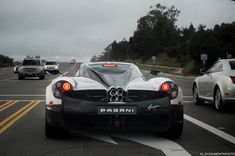 Pagani Huayra spotted on PCH (owned by @dan_am_i) #exoticcar #supercar #car #exotic #cars #hypercar #exoticcars #carporn #supercars