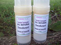 ORGANIC+ALL+Natural+Deodorant+Aluminum/Chemical+by+wonderweeds,+$8.95