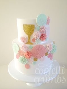First Holy Communion Cake. Photo only.