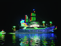 52% off Newport Beach Christmas Boat Parade Cruise + 1 Drink