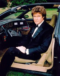 Knight Rider...with the Hoff way before Baywatch! popular 1980s TV shows 2 quiz