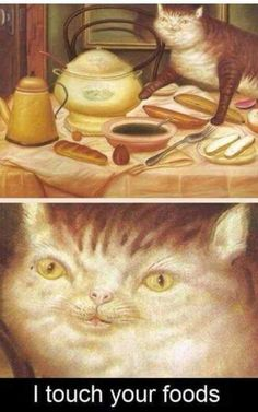 I Touch Your Foods | Art, Artist, Death of Pablo Escobar, Oil painting, Painting, Soup, Still life, Still Life with Green Soup, Still Life with Red Apples | Funny Pictures | LOL Pics