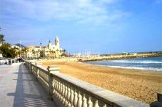 Beaches near Barcelona, Spain