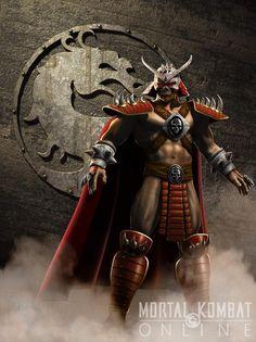 Shao Kahn | ... comandada por shao kahn quem comandava esse reino era o rei dragão