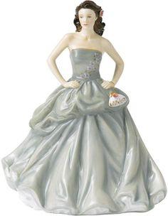SIGNED MICHAEL DOULTON HAPPY BIRTHDAY 2013 Pretty Ladies ROYAL DOULTON NIB in Collectibles, Decorative Collectibles, Decorative Collectible Brands   eBay