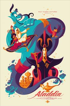 Mondo: The Archive | Tom Whalen - Aladdin, 2014
