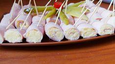 Zawijane szyneczki z serem żółtym i czosnkiem - Swojskie jedzonko Holiday Appetizers, Sushi, Grilling, Food And Drink, Eat, Cooking, Ethnic Recipes, Impreza, Mascarpone