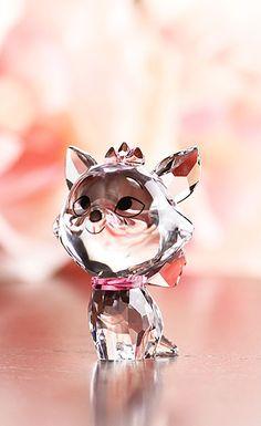 Cute swaroski cat