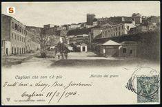 Cagliari che non c'è più. Mercato del grano prima del 1905
