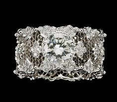 Buccellati Diamond Ring - Eternal Jewelry ~ Big Fun - The Fun Blog