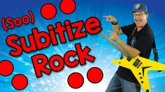 Subitize is the ability to tell the number of objects in a set, quickly, without counting. Subitizing develops math fluency, when students recognize sets wit. Math Songs, Kindergarten Songs, Numbers Kindergarten, Math Numbers, Preschool Math, Kids Songs, Math Classroom, Teaching Math, Math Activities