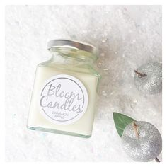 Let the festive season sparkle with the limited edition Christmas Candle Collection from Bloom Candles  Cinnamon Apple is a very merry and warming fragrance simply perfect. The sweet aroma of freshly stewed apples infused with cinnamon. Shop now at pennyrosehomegifts.co.uk