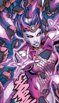 Star Sapphire Nol-Anj in Green Lantern Vol 5 # 23 - Art by Billy Tan, Robert Hunter, & Alex Sinclair