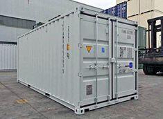 Bist du auf der Suche nach einem neuen und günstigen Seecontainer? MO.SPACE liefert den robusten Seecontainer in Lichtgrau (RAL 7035) mit dem leicht zu öffnenden Spezialverschluss (EASY OPEN) inkl. Einbruchsicherung und dem langlebigen Holzboden direkt zu dir nach Hause oder zu deiner Firmenadresse.  Preis ab Depot Bruck a. d. Leitha  ab € 2.850,-- (Netto)  👉🏻 +43 664 432 58 60 Lockers, Locker Storage, Furniture, Home Decor, Moving Boxes, Storage Room, Heavy Equipment, Wood Floor, Decoration Home