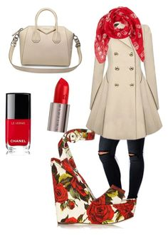 """""""Untitled #10"""" by natassja-morrison on Polyvore featuring ASOS Curve, Dolce&Gabbana, Givenchy, Alexander McQueen, Chanel and Urban Decay"""