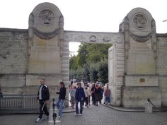 """The Pere Lachaise cemetery in Paris, in existence since 1804, has become a """"must"""" on the tourists' itinerary. They come in busloads or indiv..."""