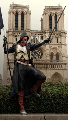 Assassin's Creed: Arno Cosplay in Paris VIDEO by RBF-productions-NL.deviantart.com on @deviantART