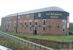 Rosebank Distillery, now the Premier Inn