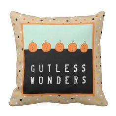 Funny Halloween Throw Pillow - halloween decor diy cyo personalize unique party
