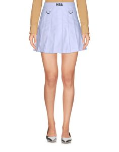 Hba Hood By Air Women Mini Skirt on YOOX. The best online selection of Mini Skirts Hba Hood By Air. YOOX exclusive items of Italian and international designers - Secure payments Women's Mini Skirts, White Skirts, Hood By Air, Cotton, Shopping, Clothes, Collection, Dresses, Style