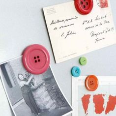 Button Magnets#Repin By:Pinterest++ for iPad#