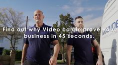First impressions are everything when it comes to marketing your business as buying decisions are made in seconds. So it's no wonder that 63% of businesses use video as part of their digital marketing armoury to drive sales and engage with new customers.  Find out how having a Video can improve your small business in 45 seconds.