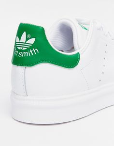 check out 7b215 b4ed1 Image 4 of adidas Originals Stan Smith White   Green Trainers Moda  Masculina, Stan Smith