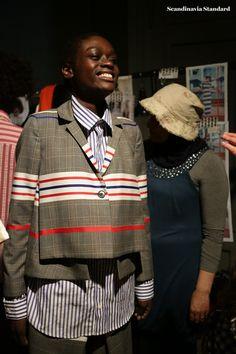Henrik Vibskov - Red - Color Me Copenhagen: Behind the Scenes at Fashion Week SS18