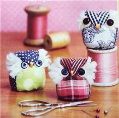 corujinhas pesos para moldes | Owls and Hedgehogs | Pinterest | Pin ...