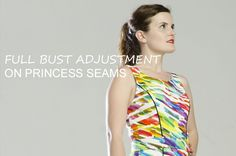 A full bust adjustment sounds like a tedious technique, but believe me, it's very easy to do and can save you a lot of fitting problems! With this step-by-step photo tutorial, you'll see how simple it is.