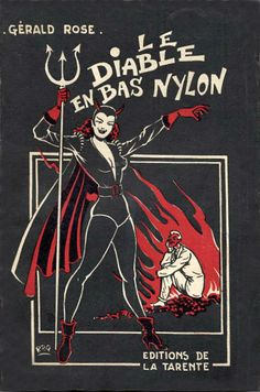 "Pulp Fiction cover, ""Le Diable En Bas Nylon""."