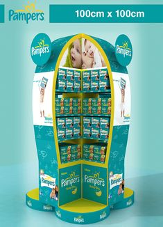 Pampers Display Stands on Behance