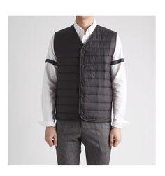 클래식한 퀄팅 패딩조끼 베스트-vest05 - [존클락]30대 남자옷쇼핑몰, 깔끔한 캐쥬얼 데일리룩, 추천코디