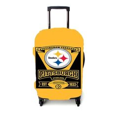 Pittsburgh Steelers 1933 Luggage Cover – Etsyenvy Luggage Cover, Pittsburgh Steelers, Suitcase, Briefcase