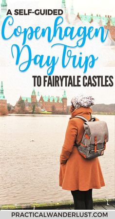Here's how to take a self guided tour to visit 2 Copenhagen fairytale #Castles. Here's how to see Frederiksborg Castle and Kronberg Castle in one day! Visiting the Copenhagen castles is one of the best day trips from #Copenhagen, Denmark. #Europe #Travel