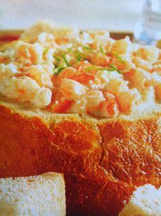 Easy crockpot recipes: Creamy Seafood Dip Crockpot Recipe