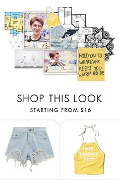 """~Is It Friday Yet?~"" by julzisbaek ❤ liked on Polyvore featuring Chicnova Fashion, Hollister Co. and adidas Originals"