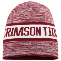 c68a8a7d392 Alabama Crimson Tide Nike Reversible Local DNA Beanie - Crimson