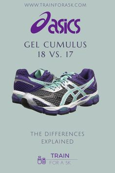 This article compares the Gel Cumulus 18 vs 17. First review each running shoe model and gives a comparison between the two.